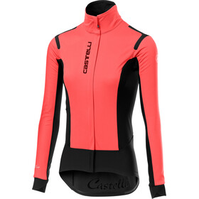 Castelli Alpha RoS Kurtka Kobiety, brilliant pink/black